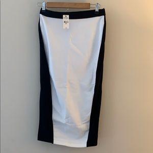 NWT Express Midi Stretchy Pencil Skirt